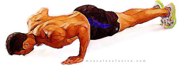 Tipos de Flexiones. Plancha Normal