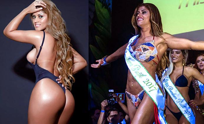 Rosie Oliveira - Miss BumBum Brasil 2017 - Gluteos de Escandalo